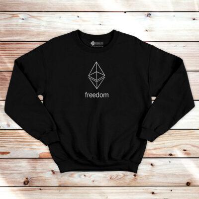 Ethereum Freedom Sweatshirt unisex ETH
