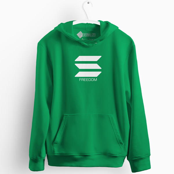 Sweatshirt com capuz Solana Freedom defi