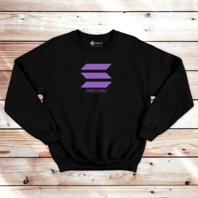 Solana Freedom Sweatshirt unisex SOL em Portugal