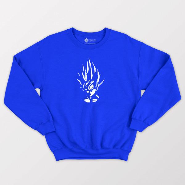 Sweatshirt Son Goku Dragon Ball Z